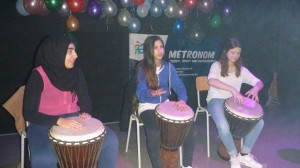 Trommel-Gruppe Metronom